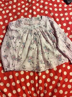 Next Girls Long Sleeved Blouse/shirt - Size 3-4 Years - Floral