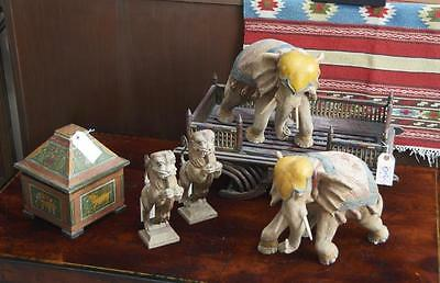 Indian and Southeast Asian wood decorations Lot 192