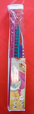 Knitting Loom Square 6Pcs Machine A Tricoter Cadre A Tricoter 6 Pieces Neuf
