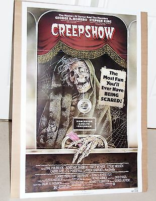 "CREEPSHOW 1982 US One Sheet (27"" x 41"") Original Film Poster 820155  Mint RARE !"