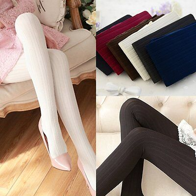 Women Lovely Ladies Warm Footless Cotton Stockings Socks Pantyhose Tights Skinny