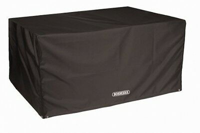 Bosmere D560 STORM BLACK 8 Seat Rectangular Table Cover