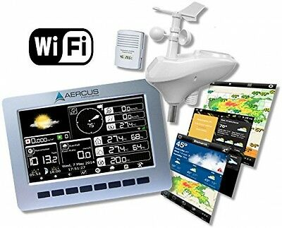 Wireless Weather Station WeatherRanger® With WiFi And Real-time Internet +