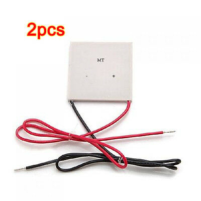 2 Pcs 100W TEC Thermoelectric Cooler Peltier 12V / Semiconductor Cooler K2O