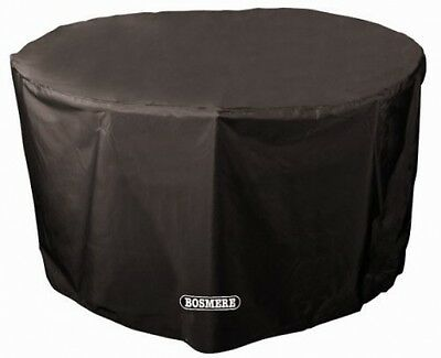 Bosmere D545 STORM BLACK 4-6 Seat Circular Table Cover