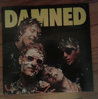 """THE DAMNED """"Damned"""" RARE 1977  -STIFF Records 12"""" LP PUNK"""