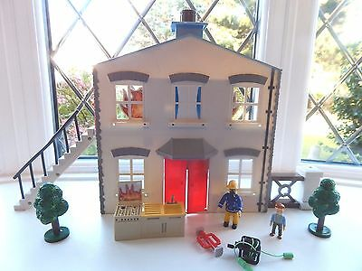 Fireman Sam Pontypandy Multi Rescue Play Set With 2 Figures And Accessories