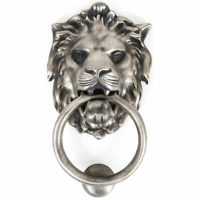 From the Anvil Lion's Head Door Knocker - Antique Pewter 33019