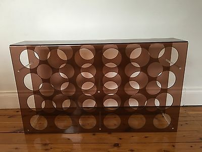 Mid Century Retro Wine Rack