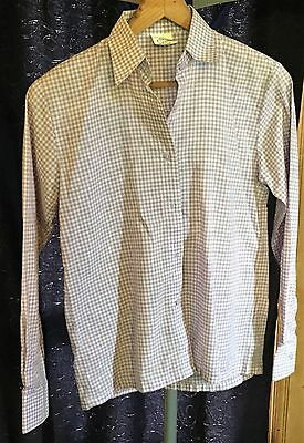 Purple Check Showstoppers Show Shirt