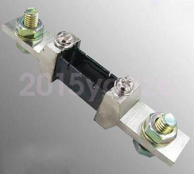 New 200A Shunt 75mV Current Resistor for DC 200A AMP Panel Meter Ammeter