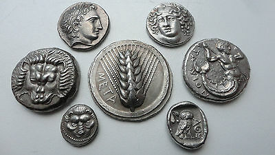 Repro Ancient Coins Drachm Athens Stater Incuse Tetradrachm Samos Free Shipping