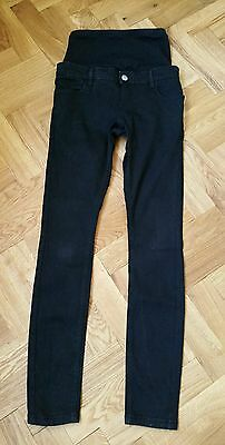 Asos black over the bump maternity jeans size 6