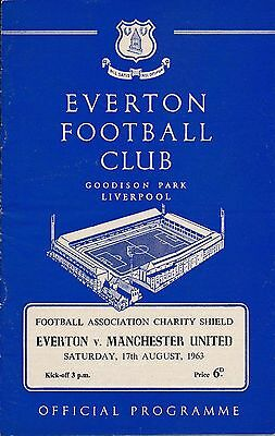 FA CHARITY SHIELD 1963: Everton v Man Utd