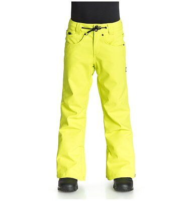 DC Boys Insulated 'Relay' Snowboard/ Ski Pants Size S/ Age 8-10 60% Off RRP