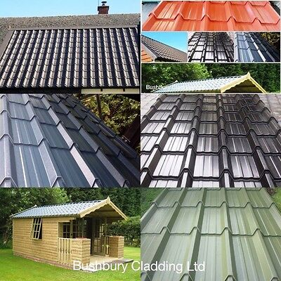 Metal Roof Sheets , Tile Effect Roofing  ** Manufactured In Uk* Look Superb !