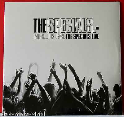 THE SPECIALS More Or Less Live 2LP vinyl 2012 Chrysalis New/Sealed! 2-tone