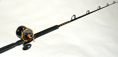 Penn SQL30LW2050C66 Squall Level Wind Conventional Rod & Reel Combo