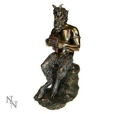 Nemesis Now *pan* Bronze Figure Wicca/witchcraft/occult/pagan New & Boxed
