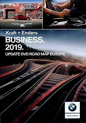 BMW Navi DVD 2017 Europa Business Map 3er E90 E91 1er E81 E84 E60 E61 SA606
