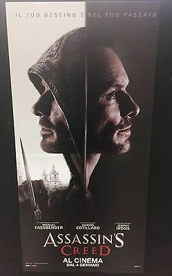 Assassin's Creed Locandina film 33x70 cm Poster Cinema Prima Ed. ITA