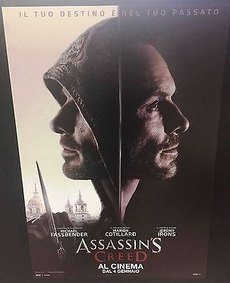 Assassin's Creed Poster originale italiano 70x100 cm NON PIEGATO