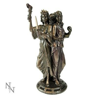 Nemesis Now  * Hecate Goddess Of Magic* Bronze Figure Wiccan//pagan/celtic Bnib