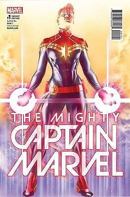 Now Mighty Captain Marvel # 1 1:50 Alex Ross Variant