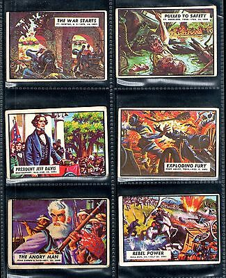Civil War News Full Set Of 88 A. & B.C. Chewing Gum Cards 1965