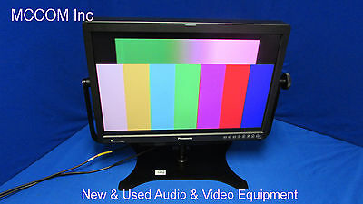 """Panasonic BT-LH2550 25.5"""" LCD Color Monitor  w/873 hrs & Oppenheimer Stand"""