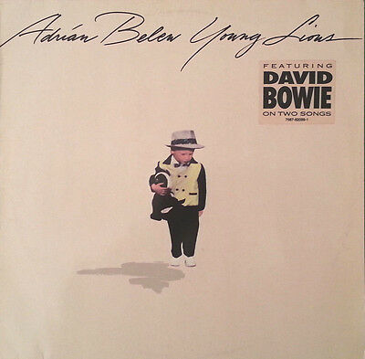 ADRIAN BELEW - Young lions  - LP GER 1990 MINT - feat. David Bowie