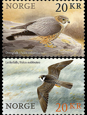 Norway 2017   Birds  Set Of 2 Stamps  Mnh   New
