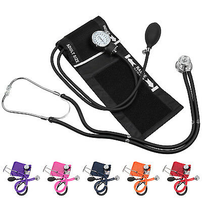 Blood Pressure Cuff with Matching Stethoscope and Pouch