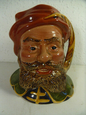 Vintage Beswick England Falstaff Large Character Jug.Hand Painted.Model 2095