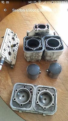 complete 650cc seadoo top end cylinders pistons and more