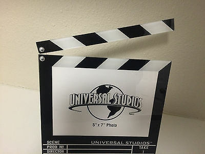 Universal Studios Director Scene Set Movie Clapboard Picture Photo Frame 5x7 NEW