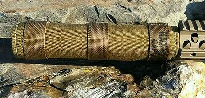Suppressor / Silencer Cover FDE 9 x 1.5 MAD Wrap Black Hills Gear