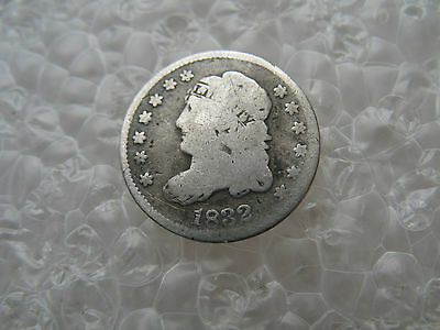 1832 Capped Bust Silver Half Dime--Circulated Silver Coin