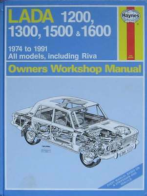 Lada 1200, 1300, 1599 & 1600,  1974 to 1991 All models