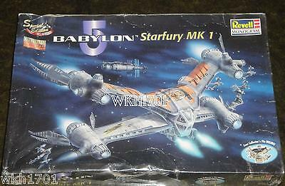 STARFURY MK 1 Special Edition Model Kit MISB Babylon 5 Revell Monogram B5 Five