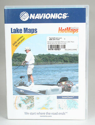 Navionics HotMaps Platinum Lake Maps -  North 2013 On Sd/microSD