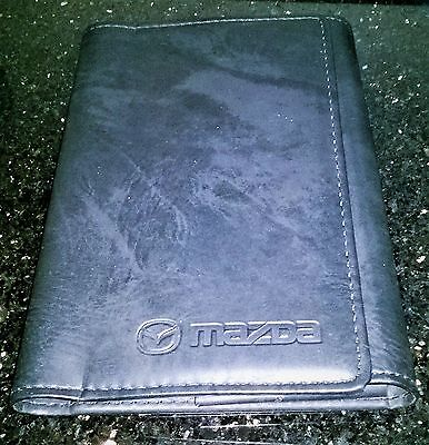 Mazda WALLET for Owners Manual Handbook Pouch Folder