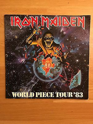 Iron Maiden - World Piece '83 Tour Programme