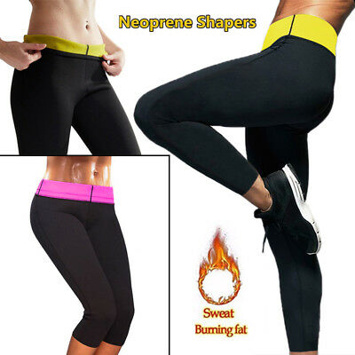 13b285940ea93 Women Neoprene Body Shaper Set Slim Waist Pants Yoga Vest Shapers Hot US  Local A