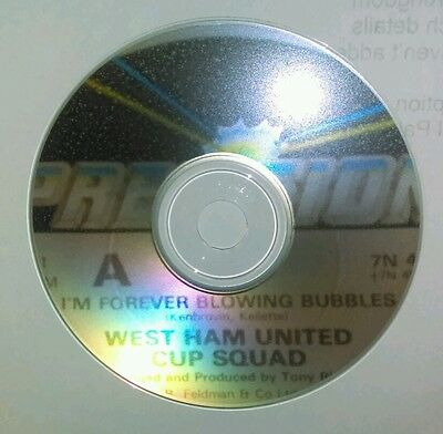 West Ham United Cup Squad Im Forever Blowing Bubbles