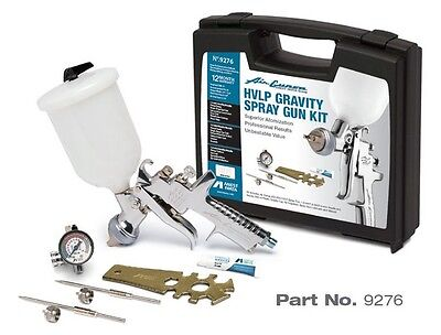 HVLP Gravity Spray Gun Kit IWA-9276 Brand New!