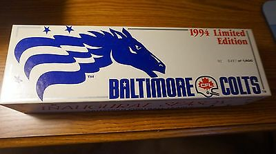 Baltimore CFL Colts Stallions Die Cast Tractor Trailer Limited Edition