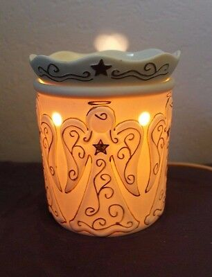 Scentsy Heavenly Angels Full Size Warmer Christmas (Retired) EUC m163