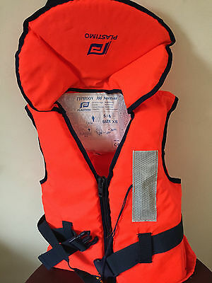 Plastimo Typhoon 45N Buoyancy Aid Life Jacket Jetski Wakeboard Waterskiing Xs