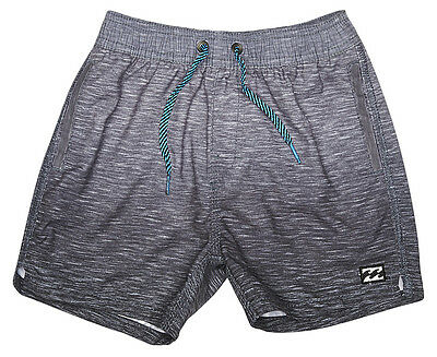 "New + Tag Billabong Baby Boys (0) ""sergio Slub"" Boardshorts Shorts Elasticised"